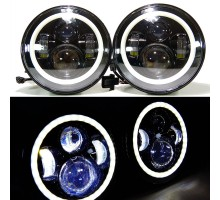 "OEM 7"" Round LED Headlight"